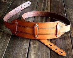 Kuvahaun tulos haulle guitar strap leather