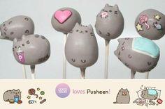 Pusheen cake pops! ♥