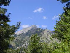 A view of Ipsario mountain