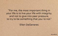Ellen DeGeneres Quote                                                       …