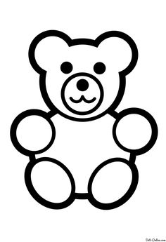 Coloriage Ourson Coloriage Dessin Coloring Pages Coloring For