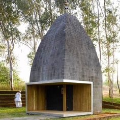 Shiv Temple in Wadeshwar, Maharashtra, India, by Sameep Padora & Associates