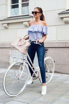 Off Shoulder | Street Fashion