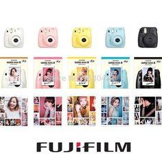 Fuji Mini 8 Camera Fujifilm + 10 PCS Photo Paper + Free Decoration Stickers www.ktidbits.com