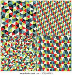 Pop Art Fotos, imágenes y retratos en stock Pop Art Fotos, Waves Background, Geometric Shapes, Geometric Patterns, Mosaic Crafts, En Stock, Pattern Illustration, Beautiful Patterns, Textures Patterns