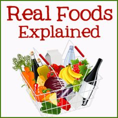 What is a real food