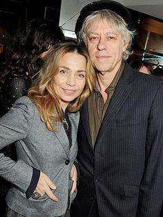 Bob Geldof Throws Wedding Party 5 Months After Marrying Jeanne Marine The Boomtown Rats, Bob Geldof, April Wedding, Braveheart, 5 Months, Pink Floyd, Girlfriends, Stars, Sterne