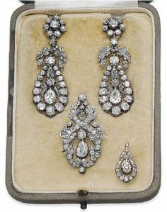 Georgian Diamond Parure-early 19thc