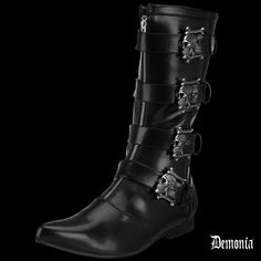 Bottes Demonia BROGUE-107