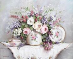 Roses & Blooms Still Life - Free Postage Australia wide only