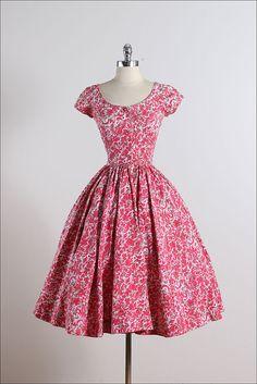 Jerry Gilden . vintage 1950s dress . vintage by millstreetvintage