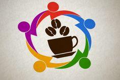 Coffee shop Logo Design by Restart Technology Shop on Creative Market