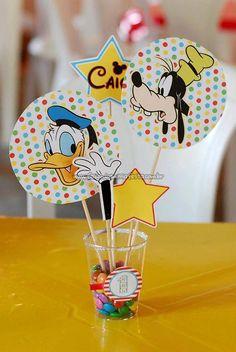 Toppers Festa Mickey e sua Turma