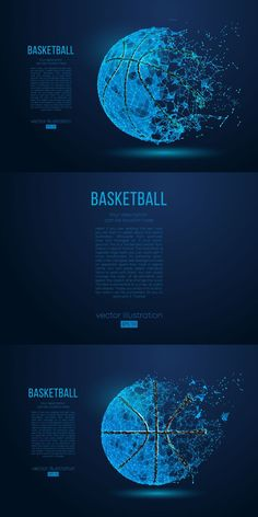 Vector Can, Alpha Channel, Banner Template, Blue Backgrounds, Basketball, Silhouette, This Or That Questions, Netball