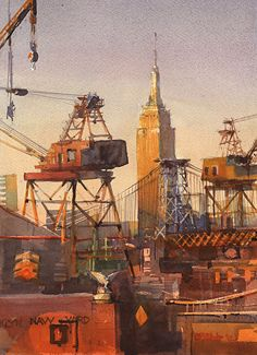 Stewart White - Brooklyn Navy Yard