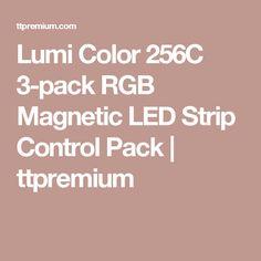 Lumi Color 256C 3-pack RGB Magnetic LED Strip Control Pack | ttpremium