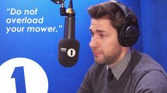 Greg James makes John Krasinski cry