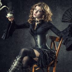 Slovakian #Gothic beauty, Vera Croft. Photography from Vlado Veverka, Agience Photo, and Mat Michlik.