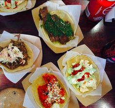 Mondo Taco has over 30 recipes, including breakfast style tacos. Try something new with Santa Monica brunch.