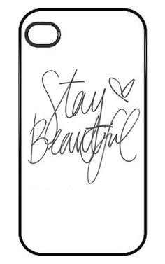 Stay Beautiful Cute Quote Iphone 5 and 5s Case iPhone case,http://www.amazon.com/dp/B00DGNXD5C/ref=cm_sw_r_pi_dp_z6pKsb1J8G3ERGZQ