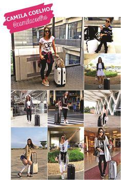 Looks de aeroporto - Camila Coelho Aerolook