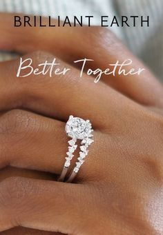 Rings find their perfect match in our collection of timeless engagement ring and wedding ring sets. Customize your bridal set by choosing from a variety of beautiful ring styles, including classic, modern, and vintage-inspired. Timeless Engagement Ring, Beautiful Engagement Rings, Wedding Engagement, Wedding Bands, Wedding Goals, Dream Wedding, Wedding Stuff, Wedding Ideas, Photo Couple