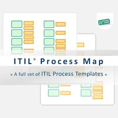 itil process map itil process templates for your itil and iso 20000 initiative