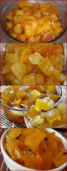 Peel the papayas and grate the thick part of the grater, put in a large thick pan, add the ingredien Delicious Desserts, Dessert Recipes, Green Papaya, Cake Cookies, Sweet Recipes, Good Food, Food And Drink, Low Carb, Super Easy