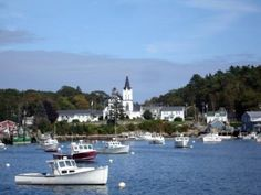Boothbay Harbor, Maine. I'd go back every year if I could. Quaint, fun & friendly town with GREAT lobster.