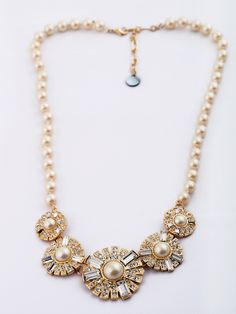 new arrival pearl alloy short lady necklace