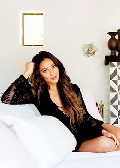 Shay Mitchell Source — Shay Mitchell by Tessa Neustadt for People...