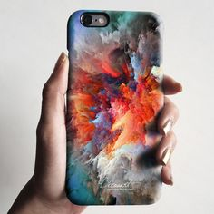 Abstract cloudscape iPhone 6 case, iPhone 6 Plus case S752 http://amzn.to/2qZ3RzU