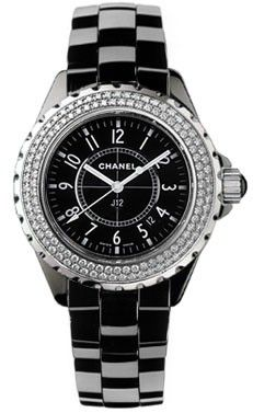 Chanel Ladies Black J12