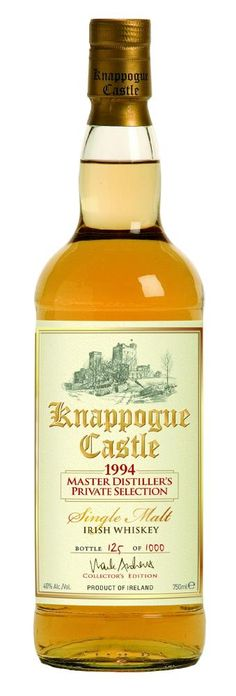 Review: Knappogue Castle 1994 Master Distiller's Private Selection Irish Whiskey