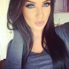 Gorgeous makeup and hair Gorgeous Makeup, Pretty Makeup, Love Makeup, Beauty Makeup, Makeup Looks, Hair Beauty, Makeup Style, Skin Makeup, Mac Makeup
