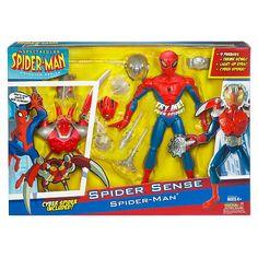 "hasbro SPIDER-MAN animated SPECTACULAR SPIDER-MAN legends 2008 5/"" inch"