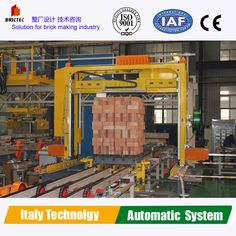 Brick packing machine with whole clay bricks production plant design