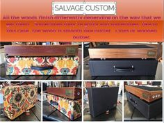 Salvage Custom Pedalboards, Cases, Cabinets, etc. here with a Friday Production Sum Up Blog Post Info Chatter Party. This week has been pretty fun in the hand-made custom pedalboard, cabinet, case building world.  We've done some beautiful builds this week.
