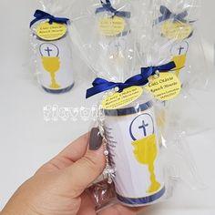 Velas personalizadas com mini-terço para Primeira Comunhão  :: flavoli.net - Papelaria Personalizada :: Contato: (21) 98-836-0113 - Também no WhatsApp! vendas@flavoli.net