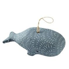 The Land of Nod - November 2015 Catalog - Whale Ocean Life Ornament.
