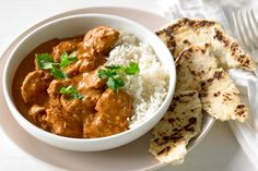 Warm up this winter, with a traditional butter chicken curry.
