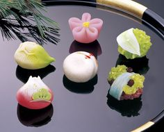 Japanese Sweets, Wagashi - 高山堂:新年上生菓子 NewYear Sweets
