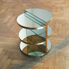 Invisible Sculpture Side Table by ROOMS Design