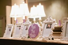 Meet the Maids wedding decoration and bridesmaid gift.