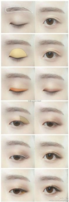 Big eye natural make up #make up #idea