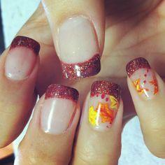 Fall Nails - #nailsbyamyb #fallnails
