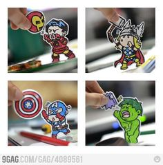 Iron man - Thor - Capitán América - Hulk