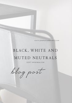 With our take on black, white and all neutrals in-between, we wanted to create a space that is livable, minimal and clean. Each contrasting elements are enough to make a statement in our space, as we let predominately neutral colour shades dominate our home. Minimalism Blog, Colour Shades, Home Trends, Contemporary Artwork, Bathroom Renovations, Neutral Colors, How To Memorize Things, Black White, Space