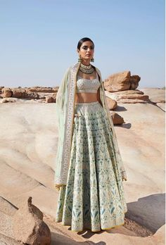 Anita Dongre :: Khush Mag - Asian wedding magazine for every bride and groom pla. - Anita Dongre :: Khush Mag – Asian wedding magazine for every bride and groom planning their Big Day Indian Fashion Dresses, Indian Bridal Outfits, Dress Indian Style, Indian Designer Outfits, Indian Prom Dresses, Asian Bridal Dresses, Pakistani Dresses, Designer Bridal Lehenga, Indian Lehenga