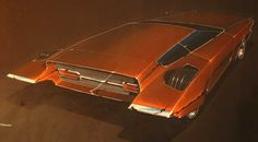 Jeff Gold's Rescued Studio Art Collection - Dean's Garage Retro Cars, Vintage Cars, Muscle Cars, Design Retro, Modern Tools, Car Illustration, Illustrations, Retro Futuristic, Us Cars